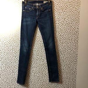 Rag & Bone Straight Legging Jean SIZE 25